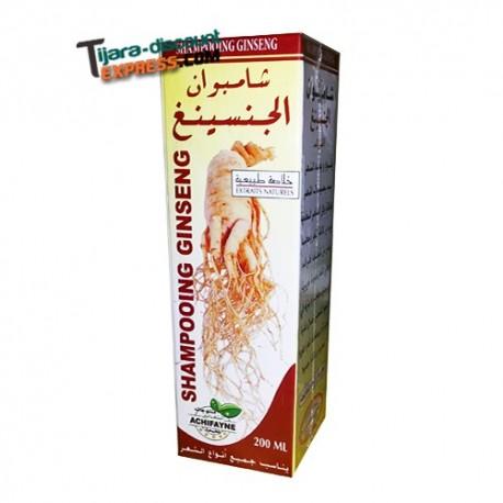 Shampoo ginseng