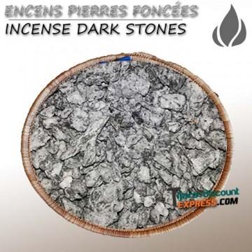 Encens pierres foncées