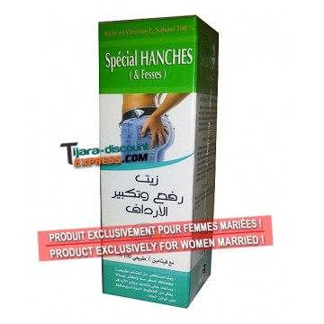 Huile spécial hanches & fesses