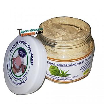 Ghassul natural white (aloe vera & verbena)