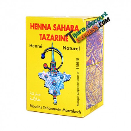 Natural henna powder for skin and hair care