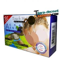 Savon acne à l'extrait d'escargot