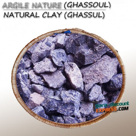 Natural clay (ghassul)