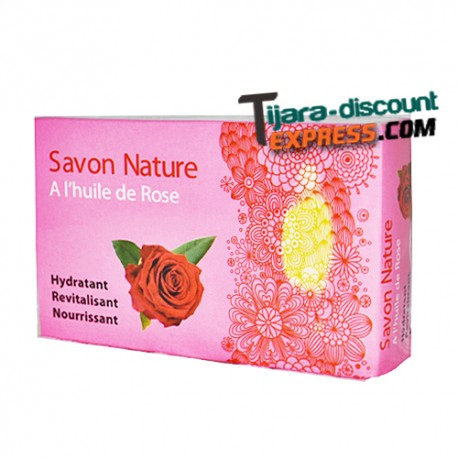 Soap with rose oil