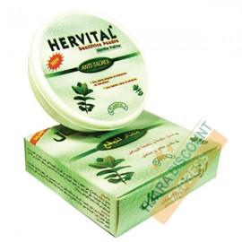 Dentifrice en poudre hervital (menthe fraîche)