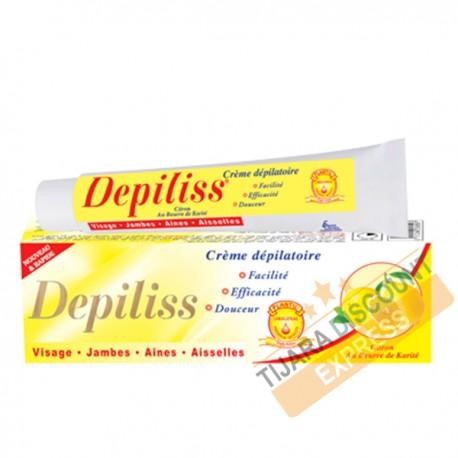 Crème dépilatoire au citron & beurre de karité