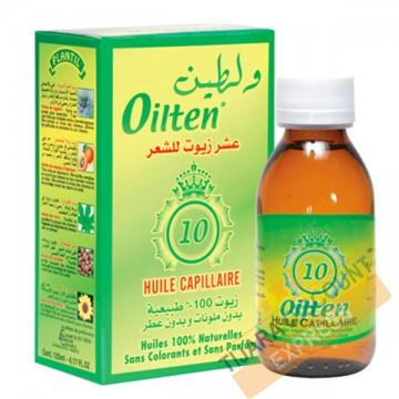 Oilten huile de massage tous types de cheveux (125 ml)