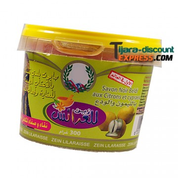 Beldi black soap with lemons & cypraea