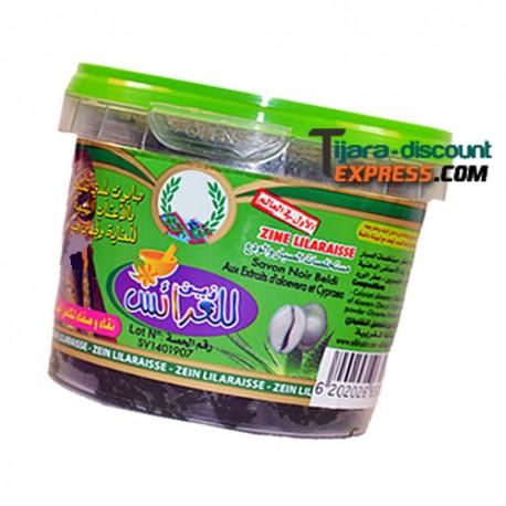 Savon noir beldi aux extraits d'aloe vera & cypraea