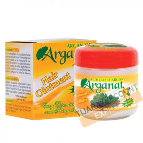 Pommade capillaire à l'huile d'argan