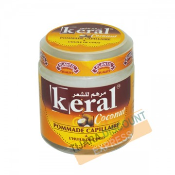 Pommade capillaire à l'huile de coco