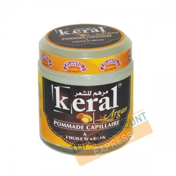 Pomade hair with argan oil (Keral)