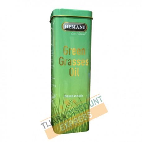 Green grasses oil