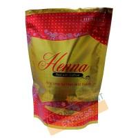 Henna red with saffron