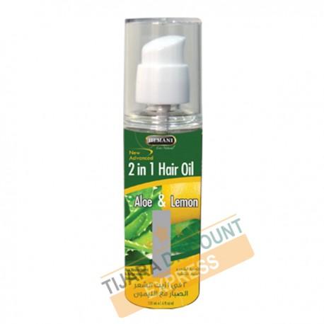 Aloe & lemon Hair Oil
