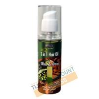 Huile capillaire à l'olive & amande douce