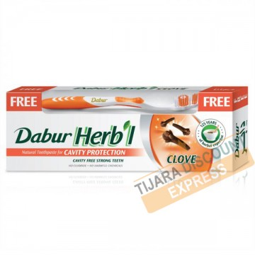 Dentifrice dabur herbal au girofle