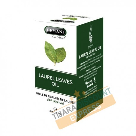 Huile de feuilles de laurier (30 ml)