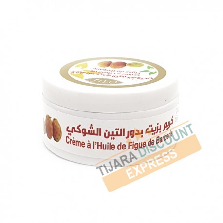 Crème à l'huile de figue de barbarie