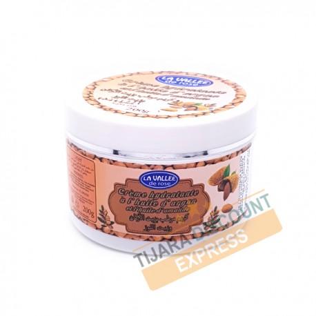 Crème hydratante à l'huile d'argan et l'huile d'amande