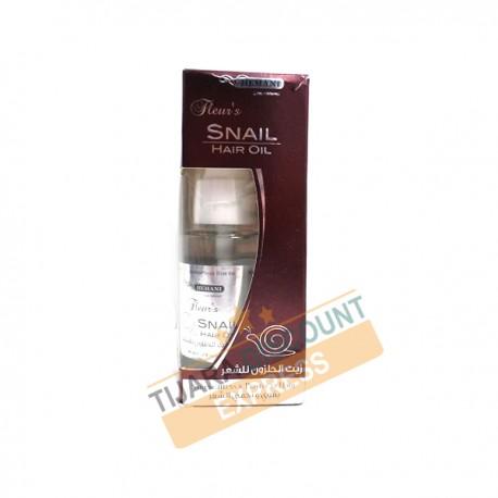 Snail hair oil