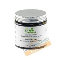 Savon noir naturel à l'huile essentielle de menthe pouliot