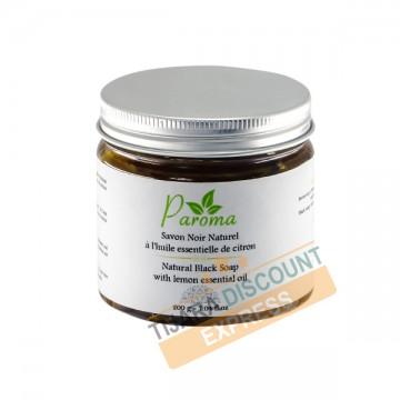 Savon noir naturel à l'huile essentielle de citron