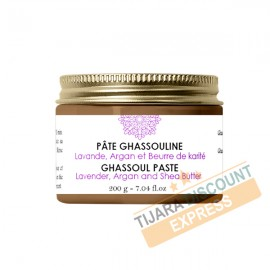 Ghassoul paste with lavender