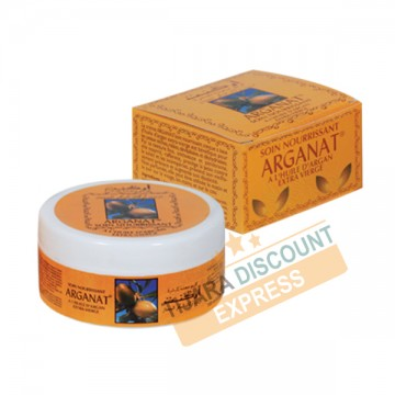 Cream with extra-virgin argan oil