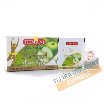Slimming tea with green apple