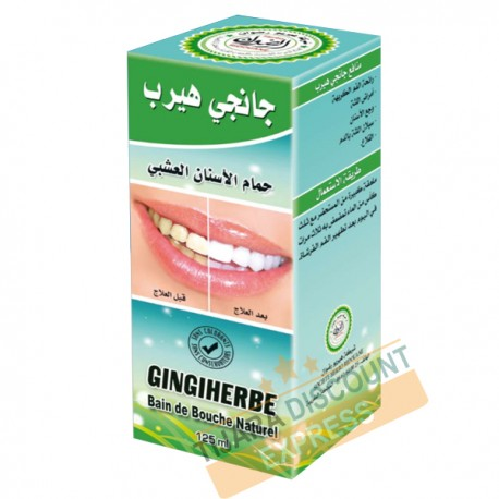 Gingiherbe bain de bouche naturel