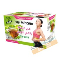 Slimming tea with green tea
