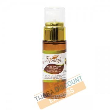 Argan oil bottle glass with Golden spray (30 ml)