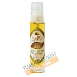 Argan oil bottle glass with spray (30 ml)
