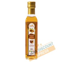 Organic argan oil food bottle glass with pouring Cap (250ml)