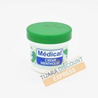Crème médicale mentholée