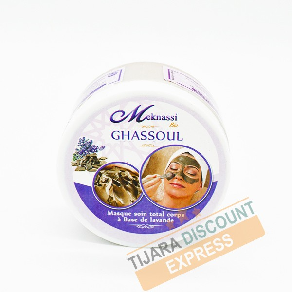 Ghassoul with lavender