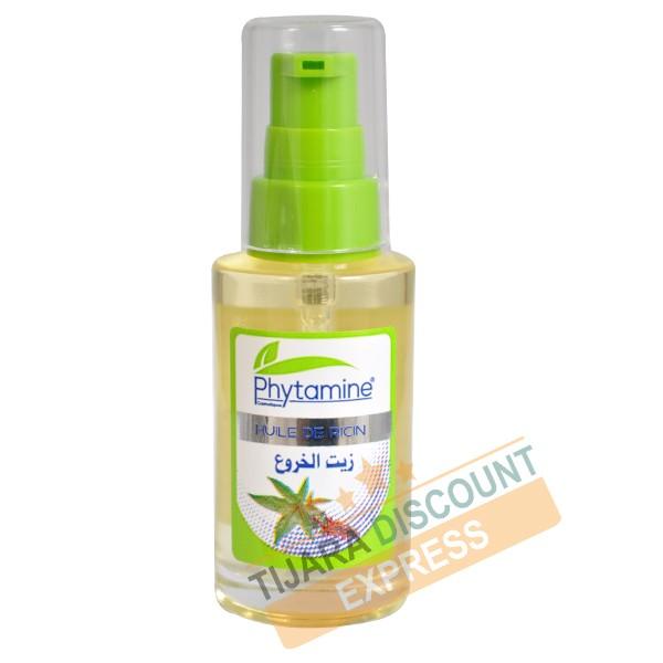 Castor oil bottle glass with spray (40 ml)