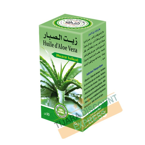 Huile d'aloé vera (30 ml)