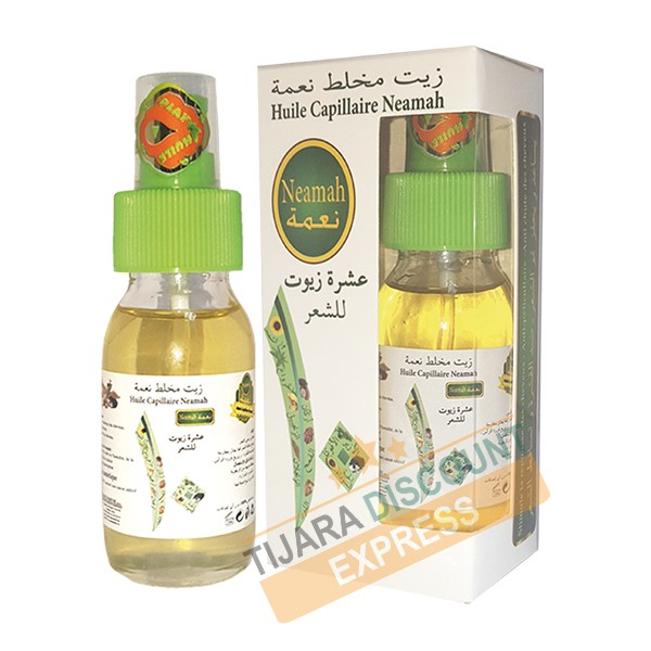 Huile capillaire Neamah (Dix huiles)