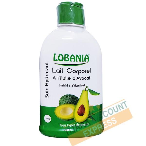 Lait corporel à l'huile d'avocat enrichi à la vitamine E