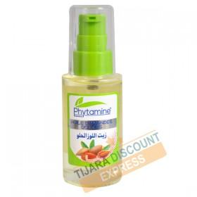Sweet almond oil bottle glass with spray (40 ml)
