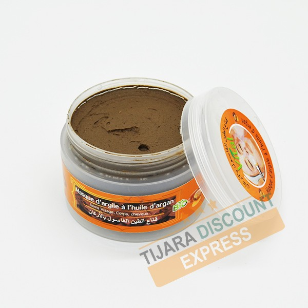 Clay mask with argan oil