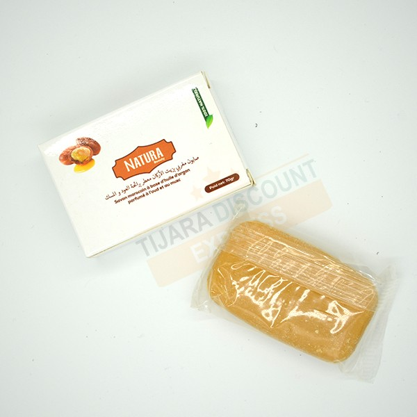 Soap with argan oil perfumed with oud and musk
