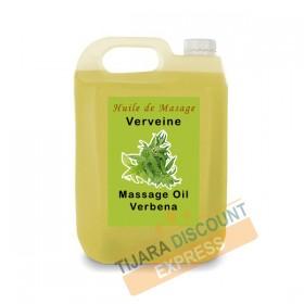 Huile de massage corps huile d'argan et verveine en vrac