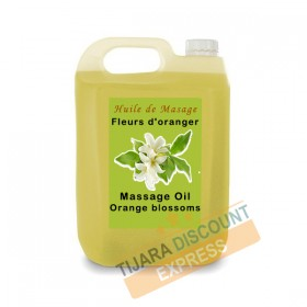 Orange blossoms massage oil in bulk