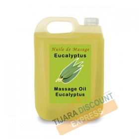 Huile de massage corps eucalyptus en vrac
