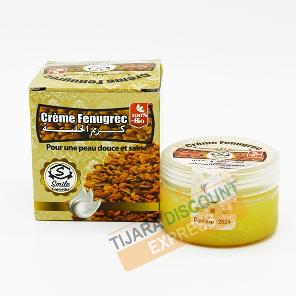 Cream fenugreek