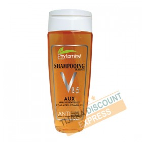 shampoo treating with essential oils and provitamin B5