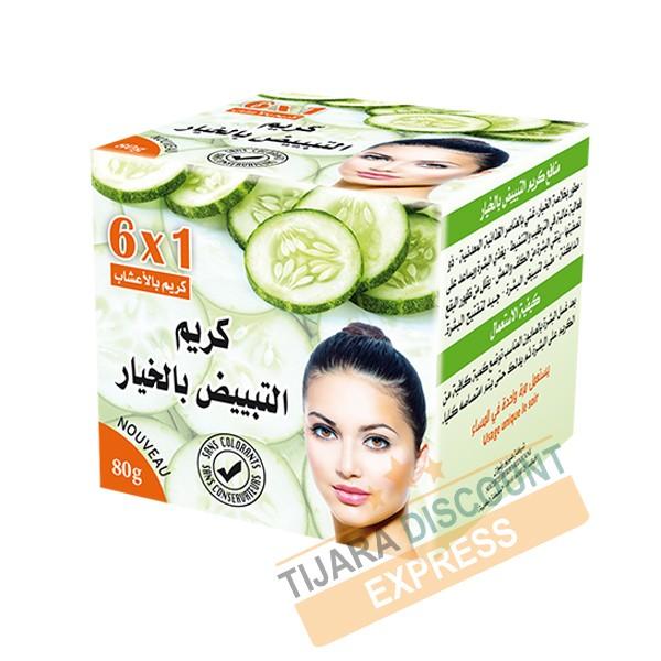 Cream whitening based cucumber extract